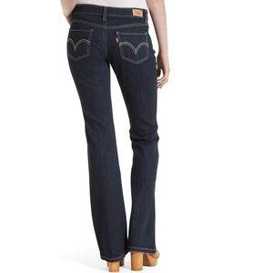 LEVI'S 518 super low wide leg jeans